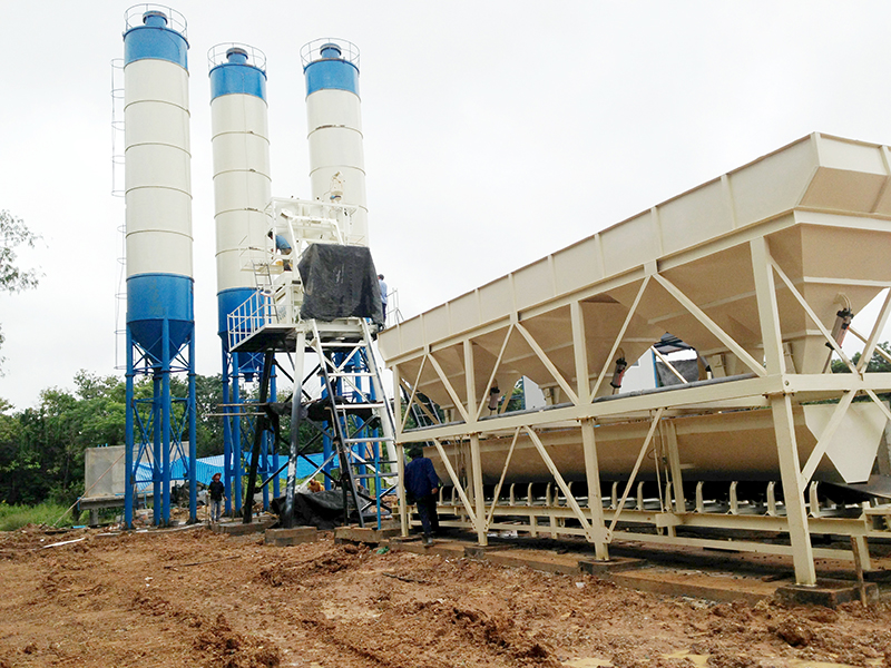 AIMIX HZS50 Stationary Concrete Batching Plant