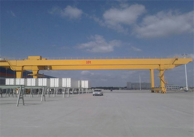 Price gantry crane double girder 10 t for sale