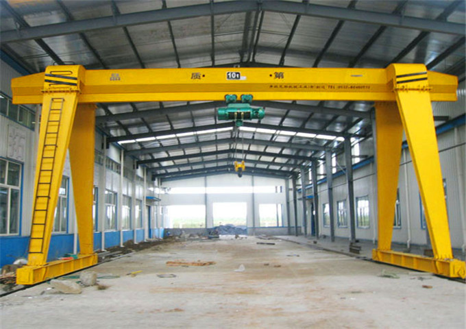 Purchase of single-girder gantry cranes 10 tons in China